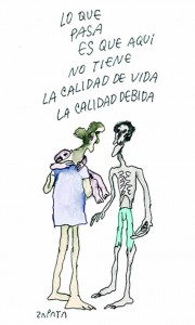 caricatura de zapata 1