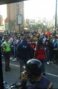 Caos por obras del Metro de Caracas