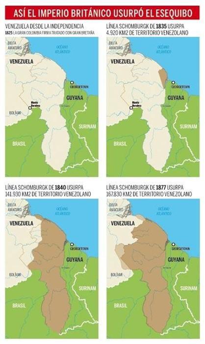 Infografia Esequibo