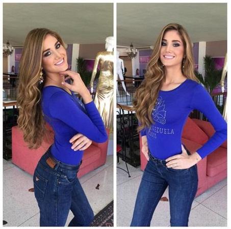 Mariam Habach, Miss Venezuela 2015 | Foto Instagram