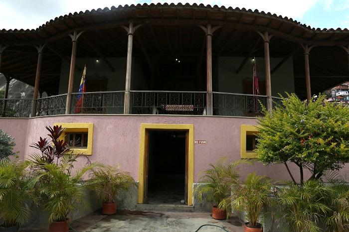 Casa de campo de Guzmán Blanco   Foto AVN