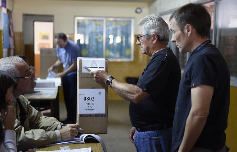 Elecciones en Argentina   Foto AFP -  Eitan Abramovich