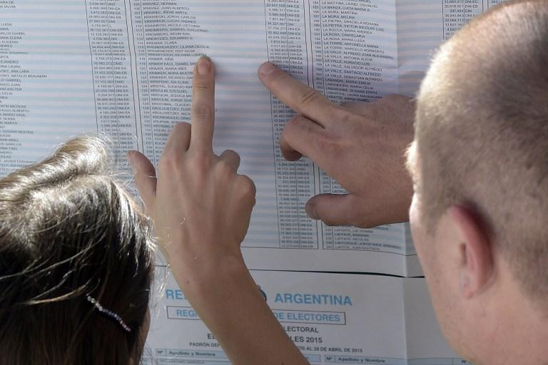Elecciones en Argentina   Foto AFP - Juan Mabromata