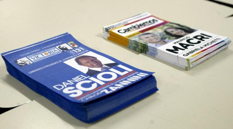 Elecciones en Argentina   Foto AFP - Walter Díaz