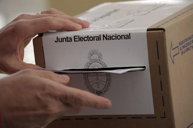 Elecciones en Argentina   Foto AFP - Alejandro Pagni