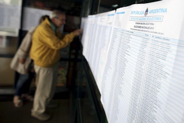 Elecciones en Argentina   Foto AFP - Emiliano Lasalvia