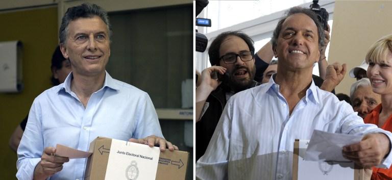 Elecciones en Argentina   Foto AFP