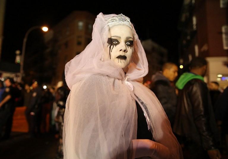 Celebración de Halloween 2015   Foto AFP