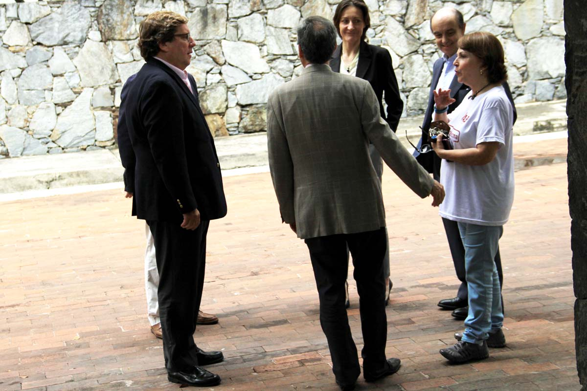 Eurodiputados visitan a Ledezma 1