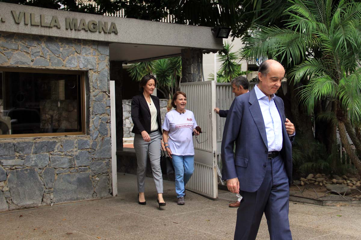 Eurodiputados visitan a Ledezma 3