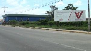 FOTO 4 La construcción será edificada a la altura del kilómetro 2 de la carretera que conduce de Santa Bárbara de Zulia a El Vigía