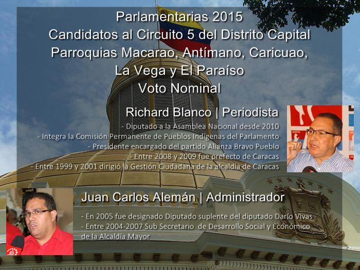 Infografía Voto Nominal [Distrito Capital] - Circuito 5 [2]
