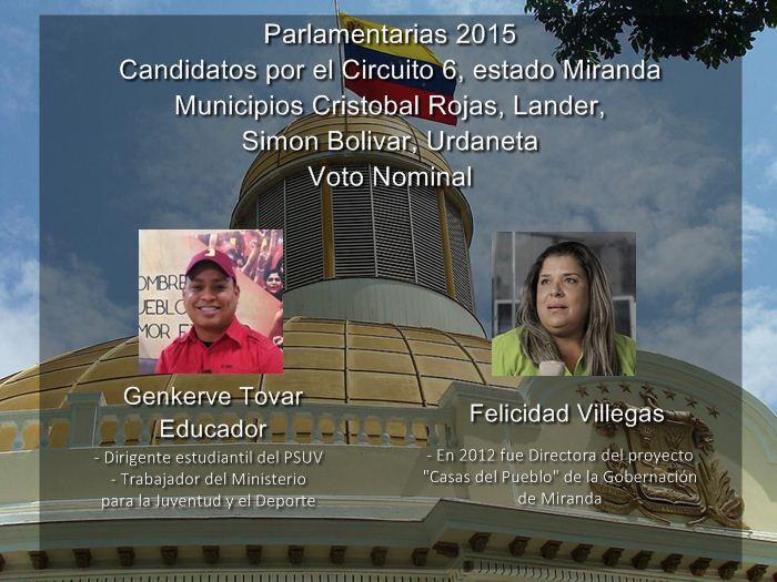Infografía Voto Nominal [Miranda] - Circuito 6 [2]