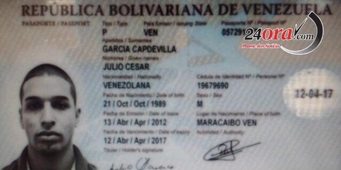 Pasaporte Ladrón Aruba | Foto 24ora.com