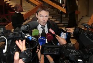 Didier Domat, abogado deMathieu Valbuena | Foto JACQUES DEMARTHON - AFP