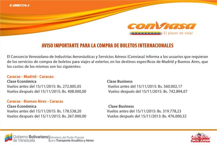 Web Conviasa