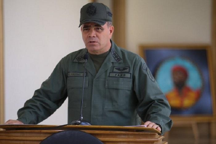 ministro de la defensa vladimir padrino lópez
