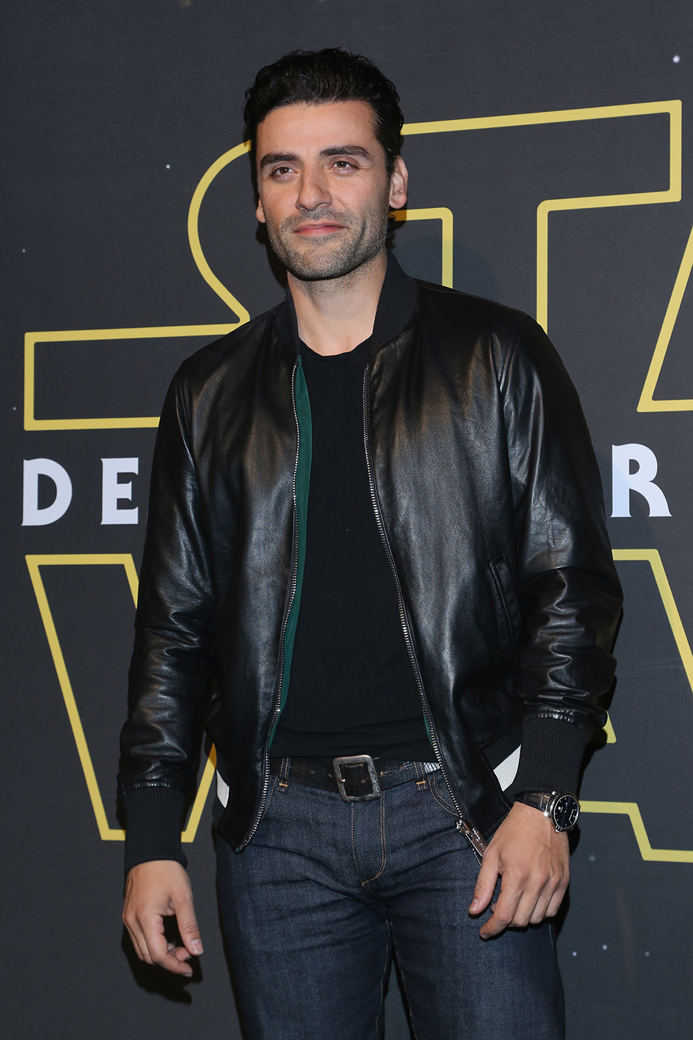 "MEXICO CITY, MEXICO - DECEMBER 08: Actor Oscar Isaac attends the ""Star Wars: The Force Awakens"" Mexico City premiere fan event at Cinemex Antara Polanco on December 8, 2015 in Mexico City, Mexico.   Victor Chavez/Getty Images for Walt Disney Studios'/AFP"