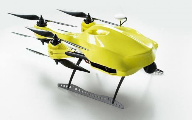 Drone ambulancia