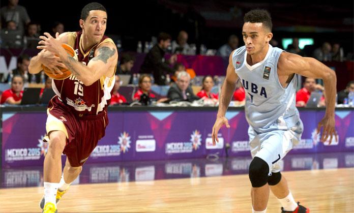 Venezuela ganó cómodamente 73-52 sobre una débil Cuba en el arranque del torneo de básquet FIBA Américas 2015 en Ciudad de México.
